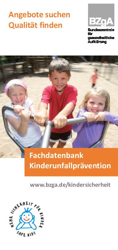 Fachdatenbank Kinderunfallprävention
